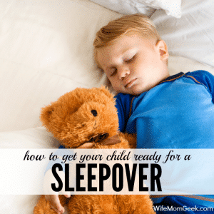 Preparing Your Child for a Sleepover