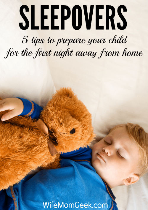 5 Tips for Preparing Your Child for a Sleepover