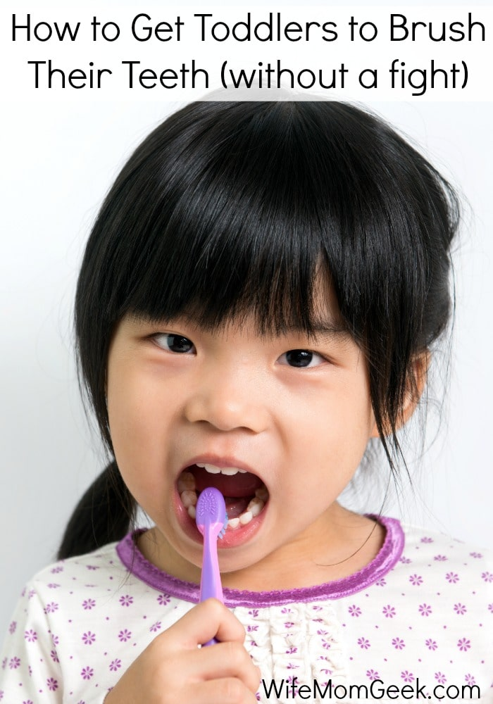 7 Ways to Get Toddlers to Brush Their Teeth