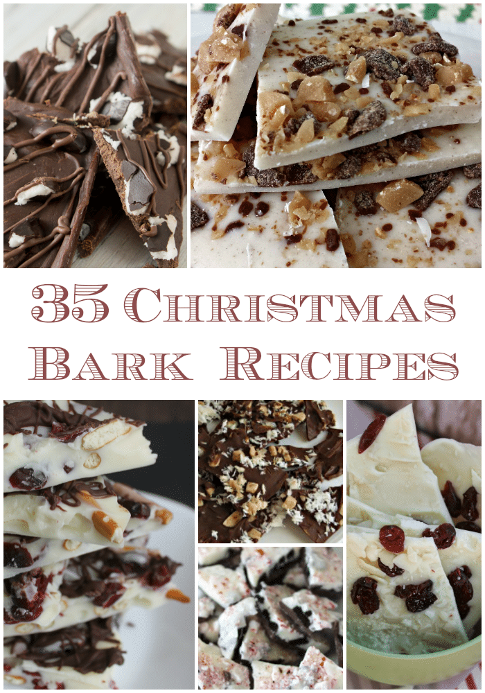 Christmas Bark Candy Recipes