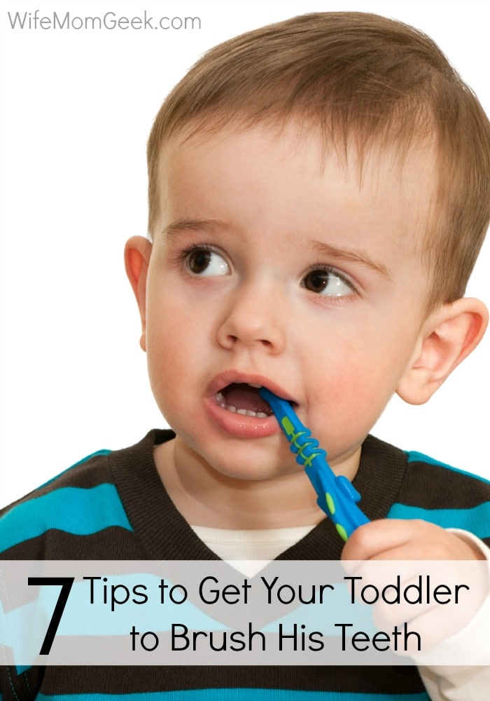 7 Tips to Get Toddlers to Brush Their Teeth