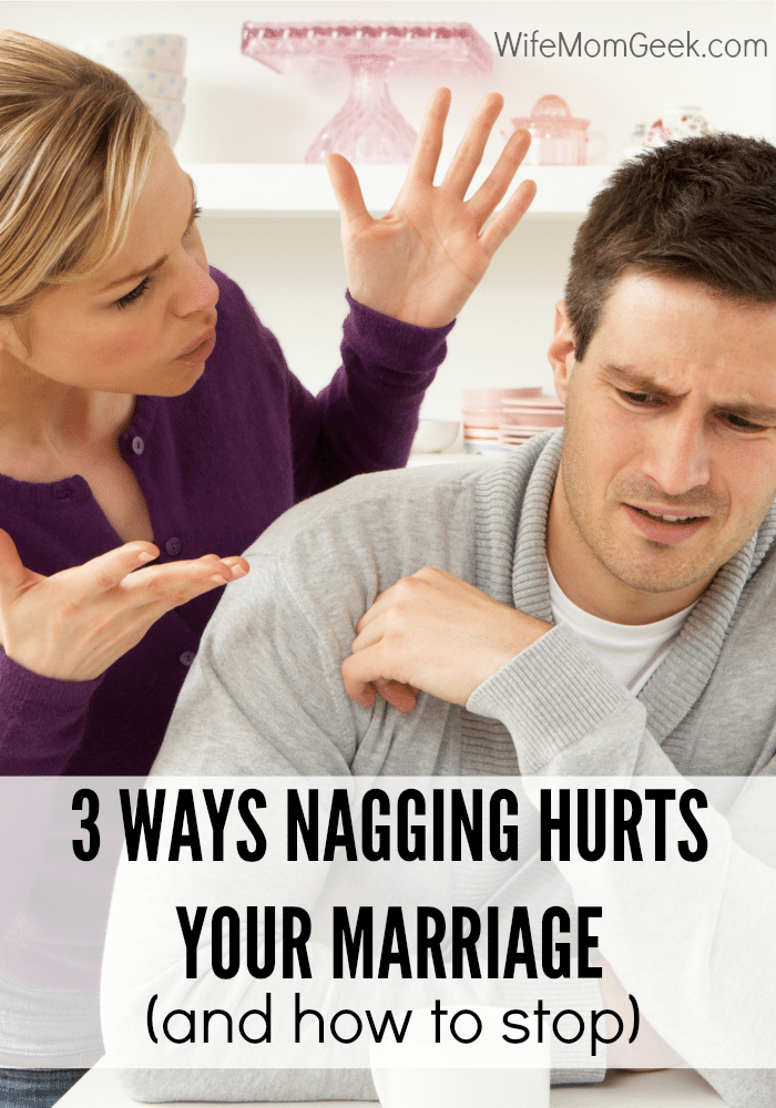 Do you find yourself nagging your husband too much? Nagging can take its toll on a relationship. Here are some helpful tips to help you kick the nagging habit.