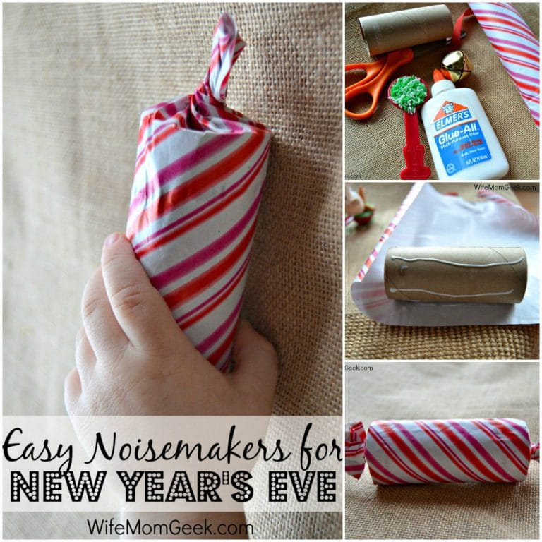 How to Make Noisemakers for New Year's Eve