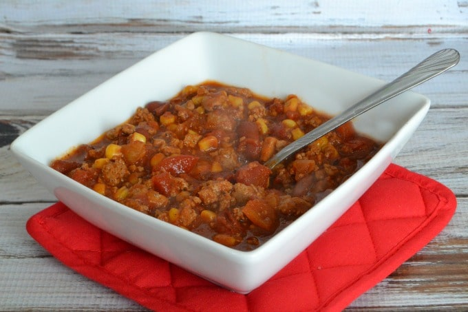 Tasty Turkey Corn Chili