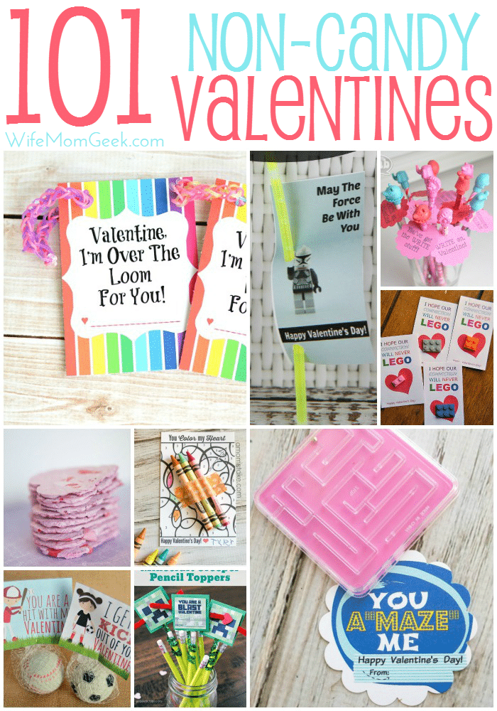 101 Noncandy Valentine's Day ideas