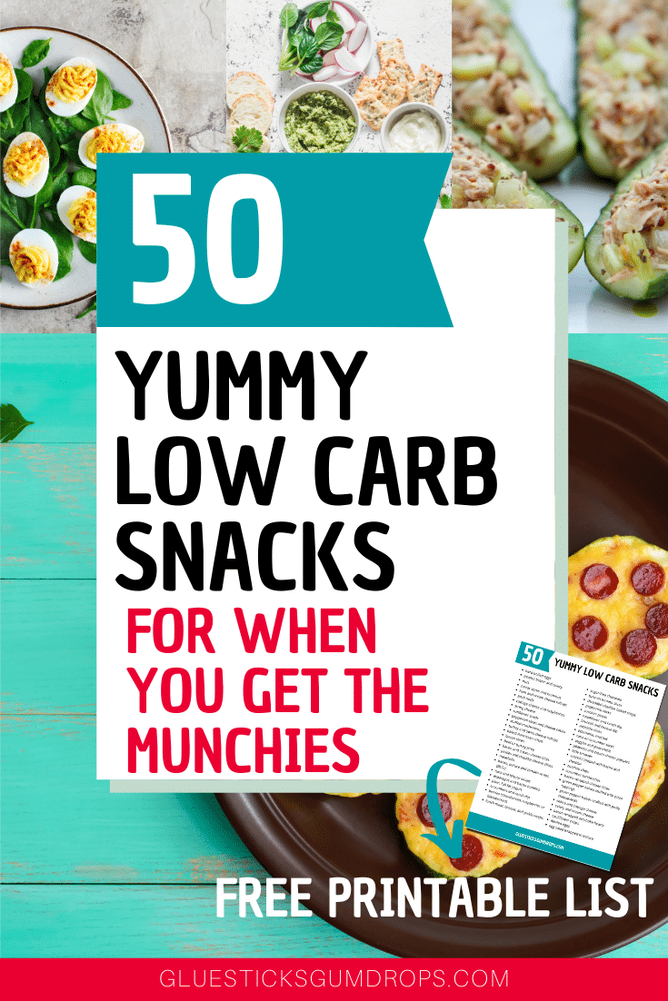 50 Yummy Low Carb Snacks for When You Get the Munchies