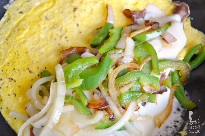 Philly Cheese Steak Omelet