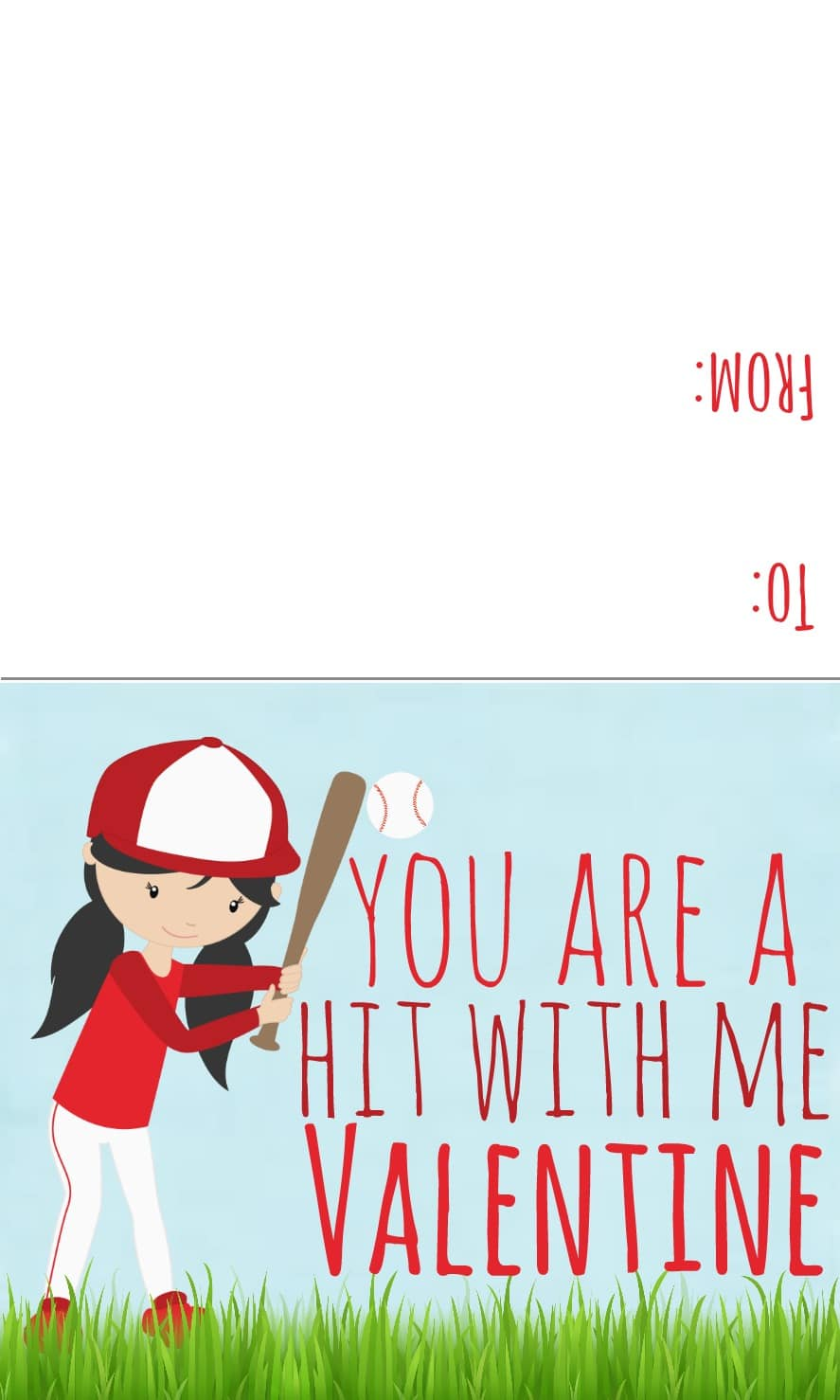 sports valentines printables candy free valentines day ideas