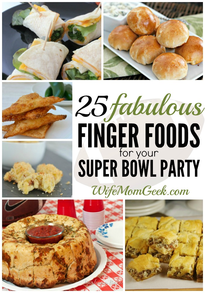 25 finger foods for your super bowl party. Black Bedroom Furniture Sets. Home Design Ideas