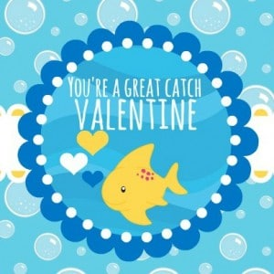 You're a Great Catch Printable Bag Topper