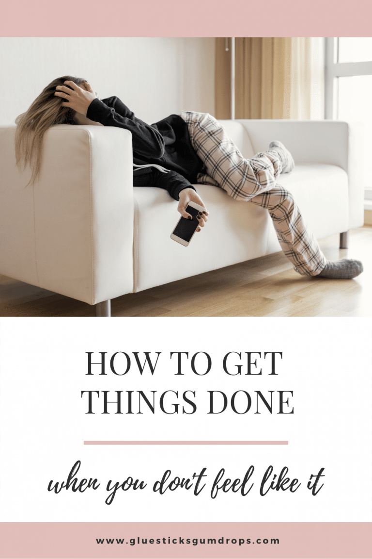 How to Get Things Done (Even When You Don't Feel Like It)