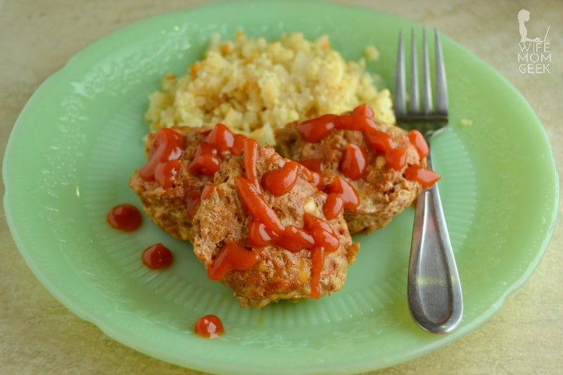 Low Carb Meatloaf Muffins