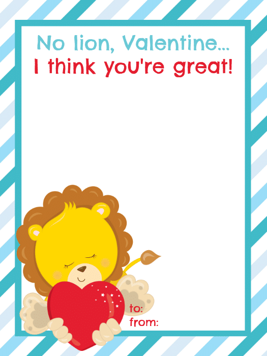 No Lion Valentine