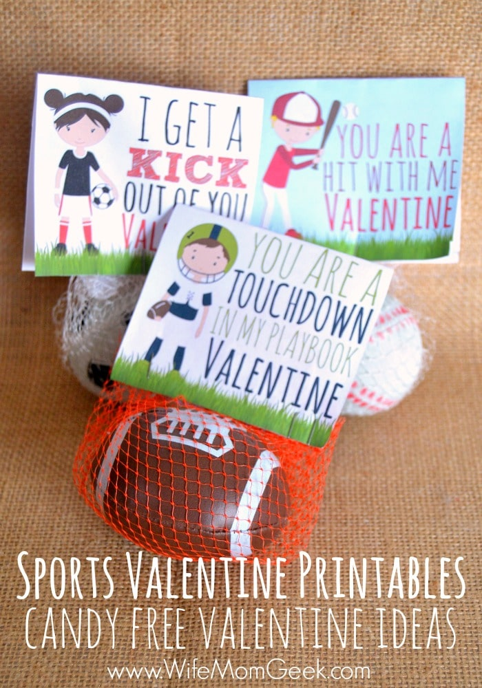 Sports Valentines for Kids