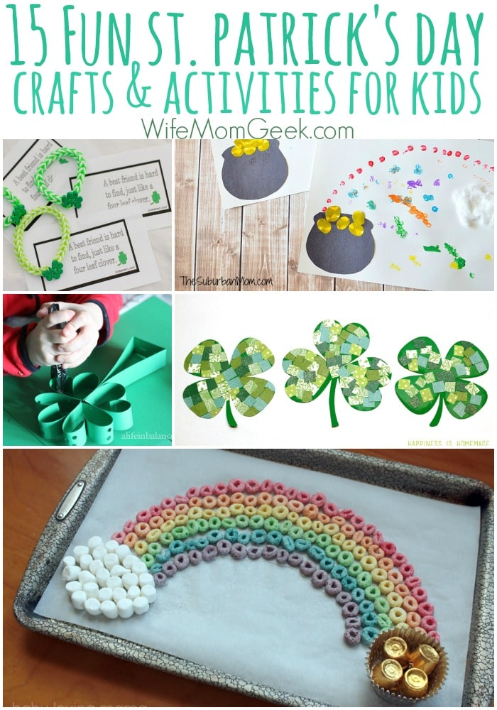 15 Fun St. Patrick's Day Crafts for Kids
