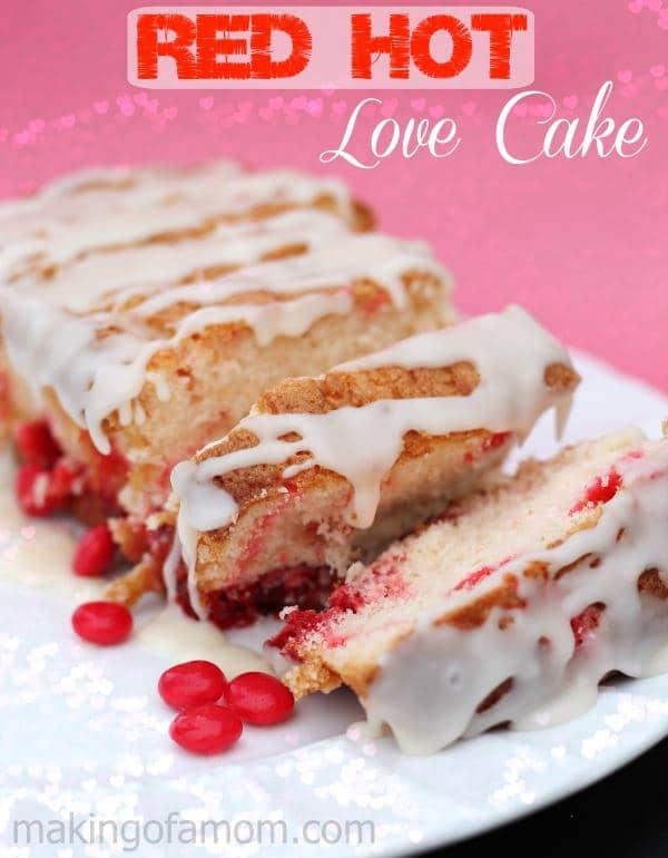 Red Hot Love Cake – 12 Days of Valentine Desserts