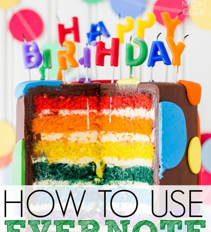 How to Use Evernote to Plan a Party