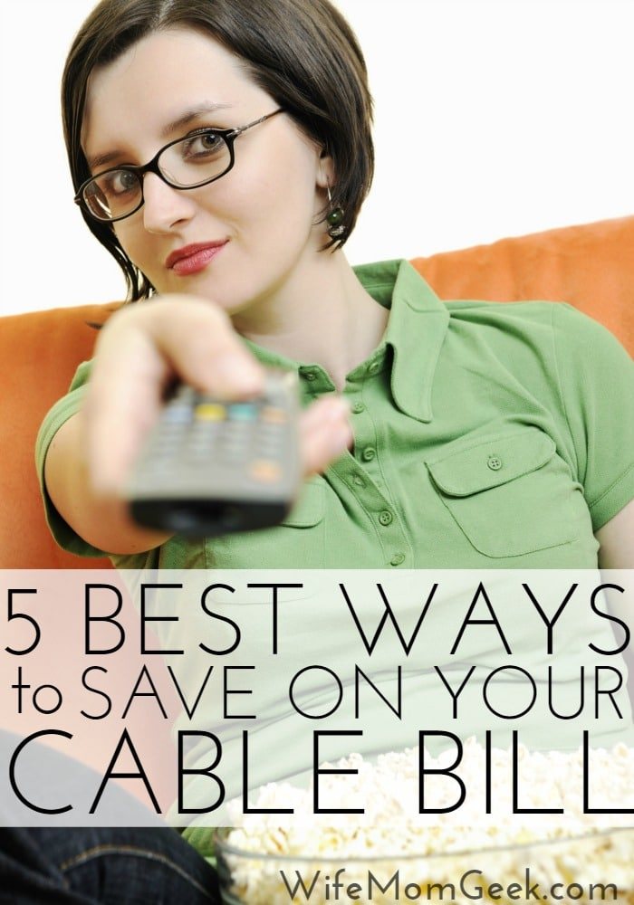 5 Best Ways to Save Money on Your Cable Bill