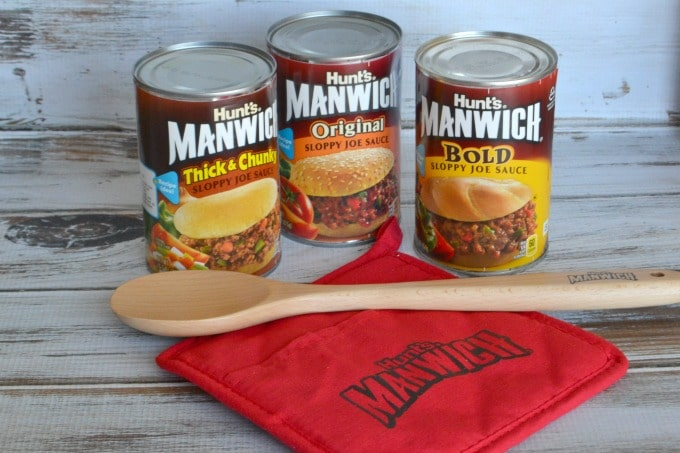Manwich comes in three flavors: Thick & Chunky, Bold and Original