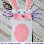 Bunny Paper Bag Puppet