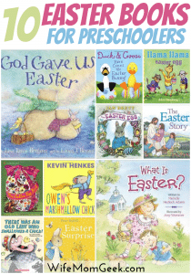 10 Easter Books for Preschoolers
