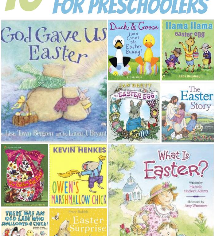 10 Easter Books for Preschoolers