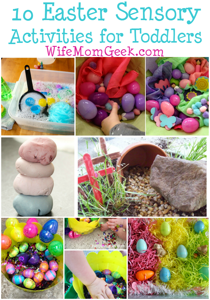 10 Easter Sensory Activities for Toddlers