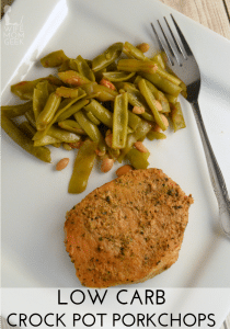 Low Carb Crock Pot Porkchops