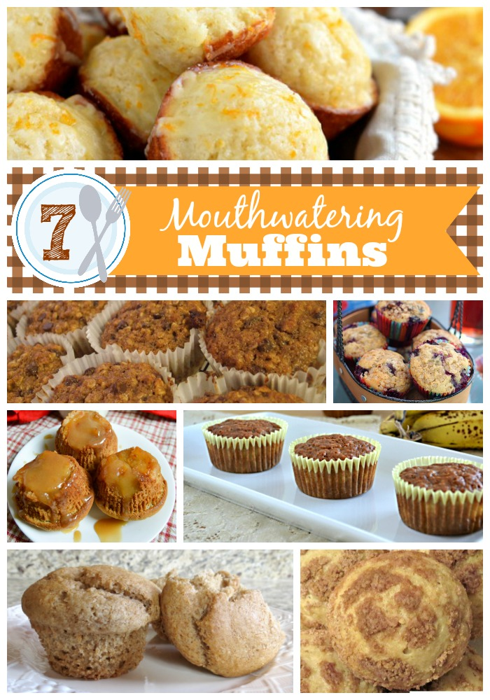 7 Mouthwatering Muffin Recipes