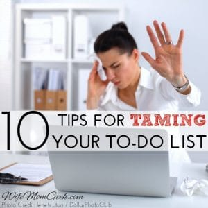 Tame Your To-Do List