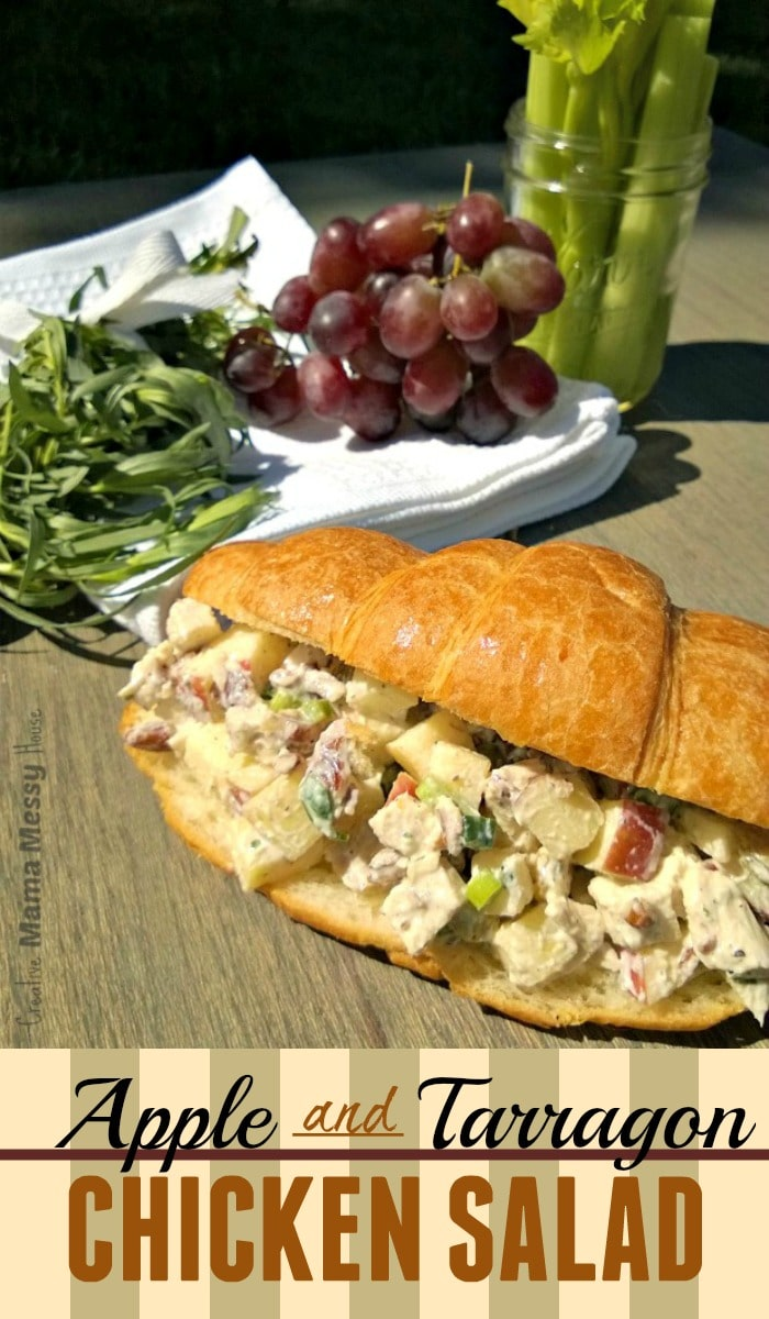 Apple and Tarragon Chicken Salad