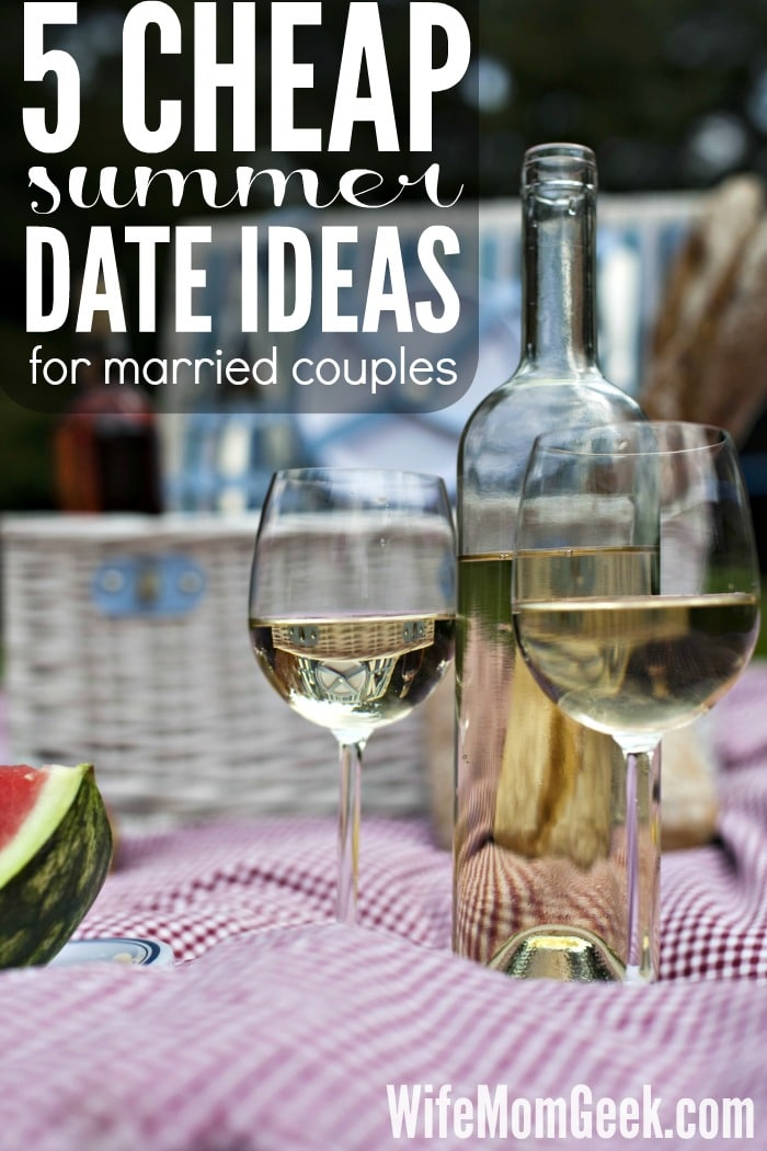 5 Cheap Summer Date Ideas for Married Couples