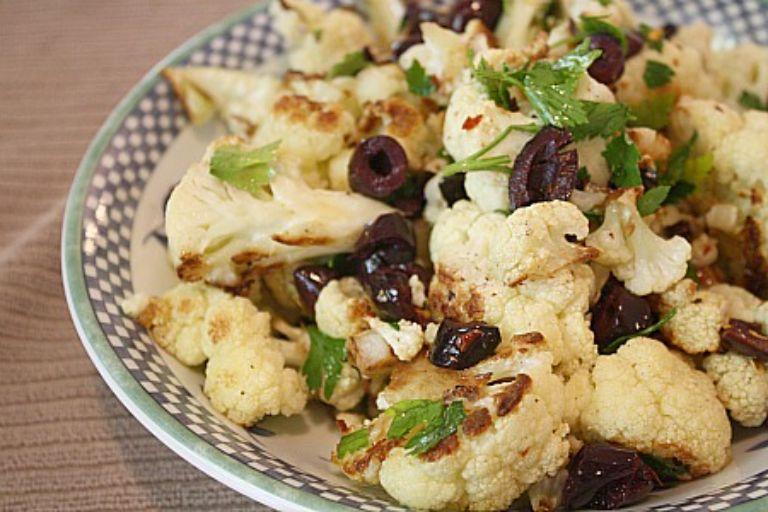 roasted cauliflower with italian seasonings