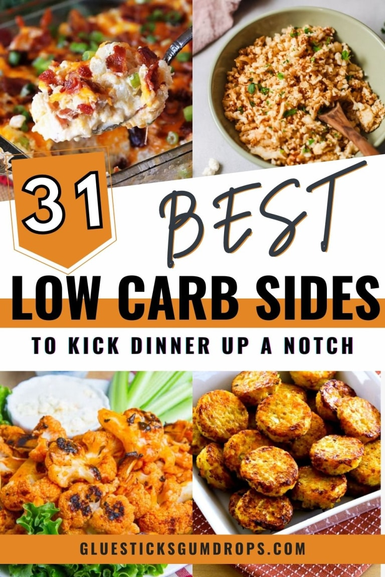 tasty low carb side dishes