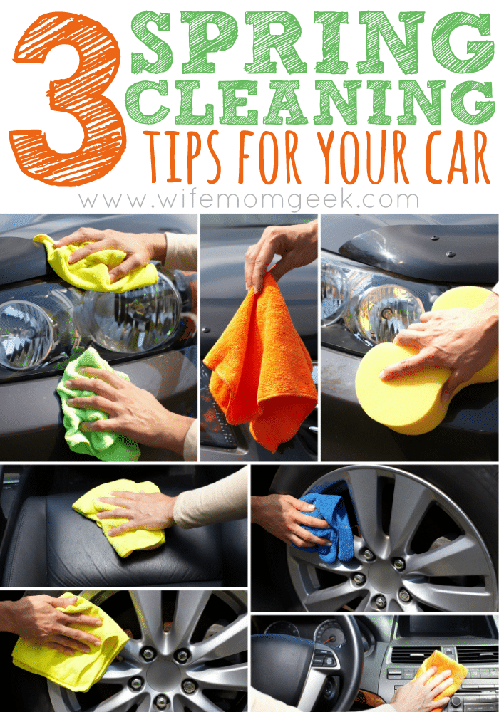 3 Spring Cleaning Tips for Your Car