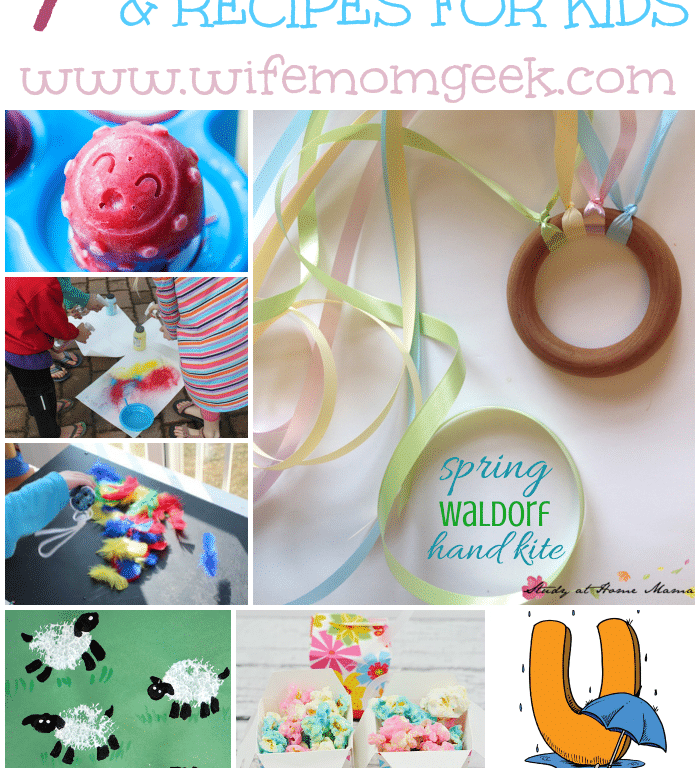 7 Spring Activities and Recipes for Kids