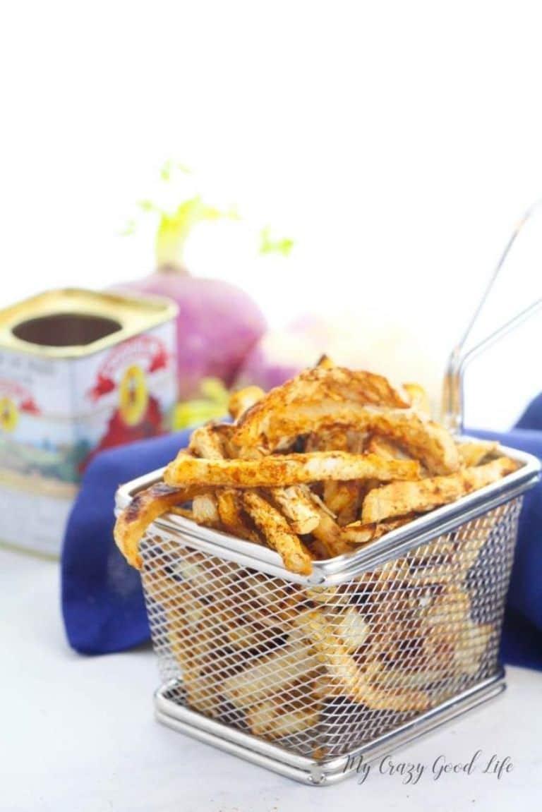 turnip fries low carb