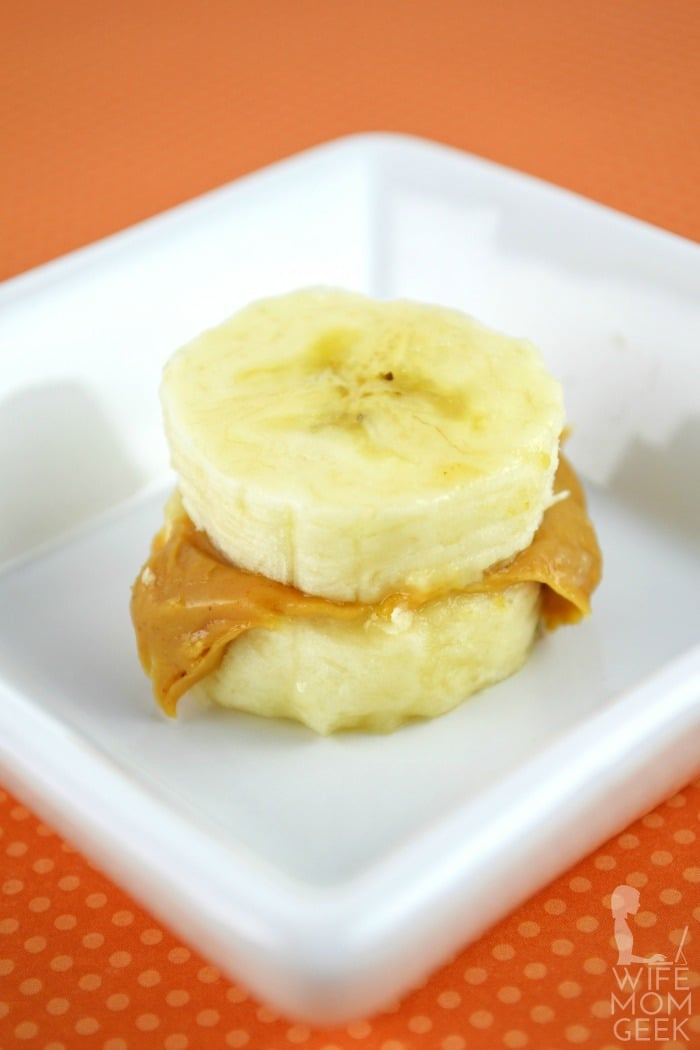 Peanut Butter and Banana Bites