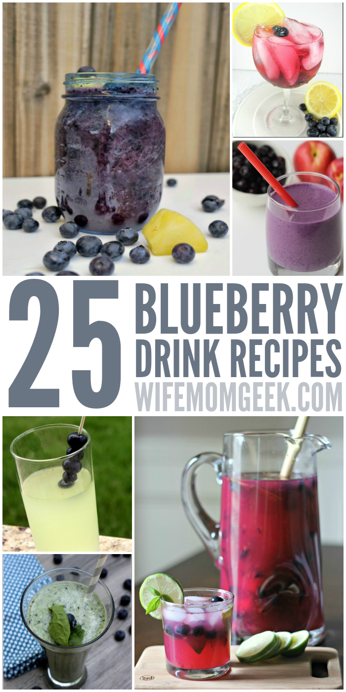 25 Blueberry Drink Recipes for Summer