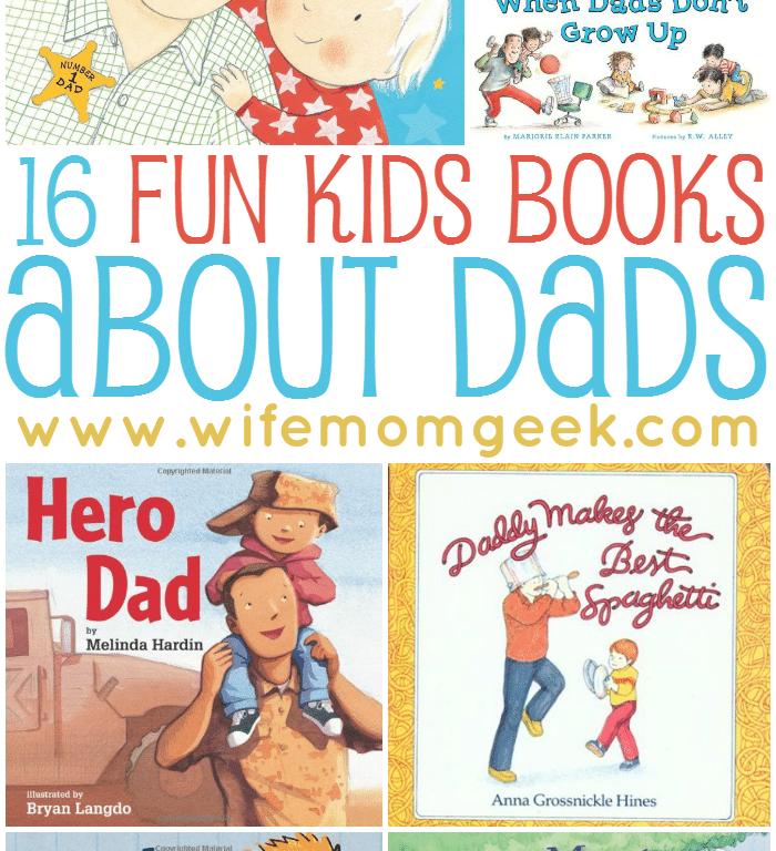 Kids books about dads