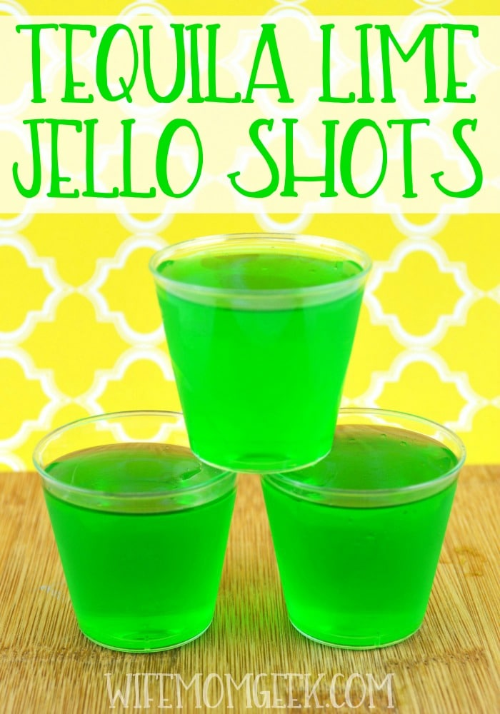 lime jello shots