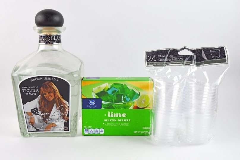 lime-tequila-jello-shots-supplies