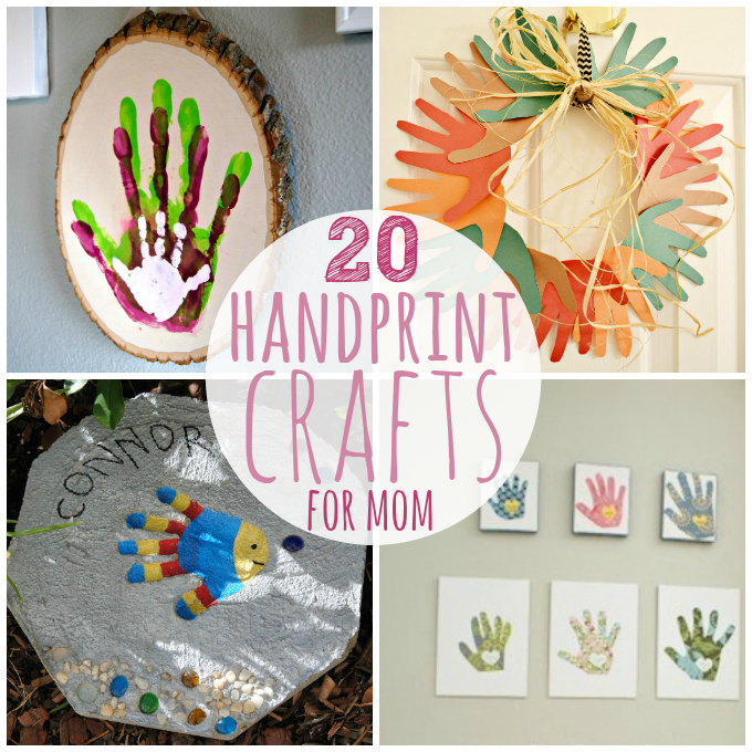 20 Handprint Crafts for Mother's Day