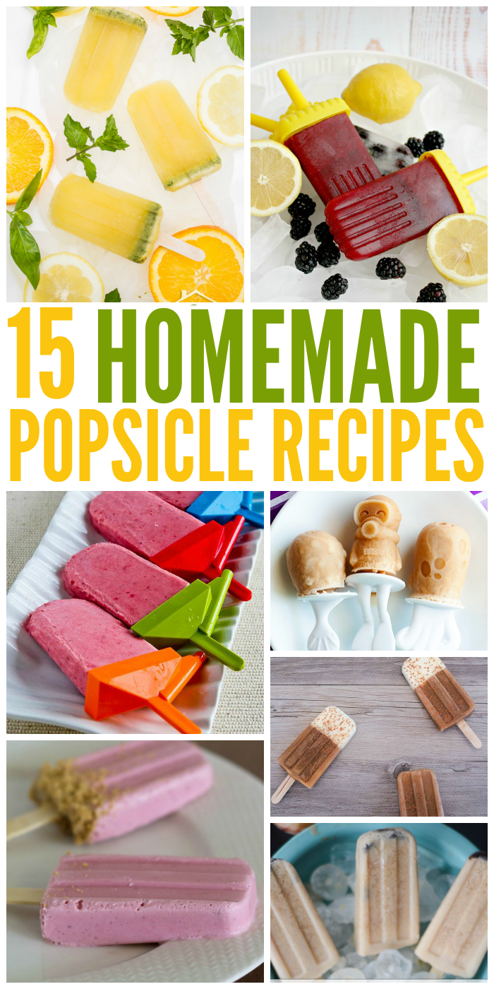 15 Homemade Popsicle Recipes You Have to Try