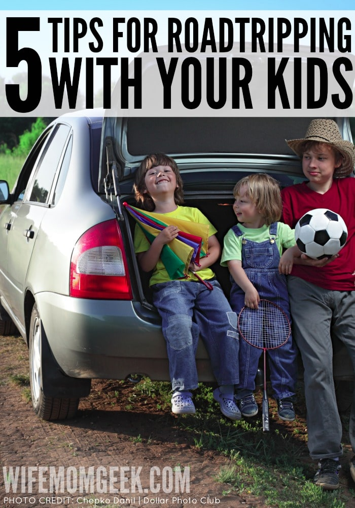 5 Tips for Roadtripping with Kids