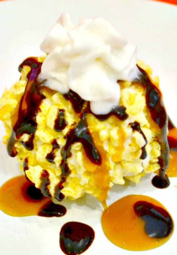 Crunchy Unfried Ice Cream - Wondermom Wannabe