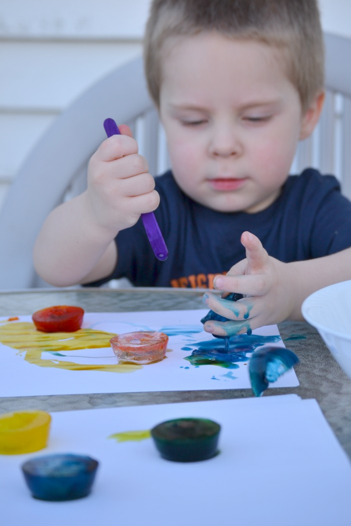 Ice Painting Activity