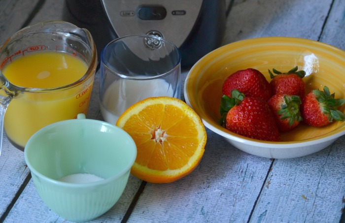 strawberry orange slushies ingredients 1