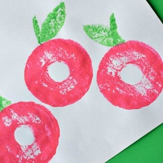Apple Craft With Pool Noodles