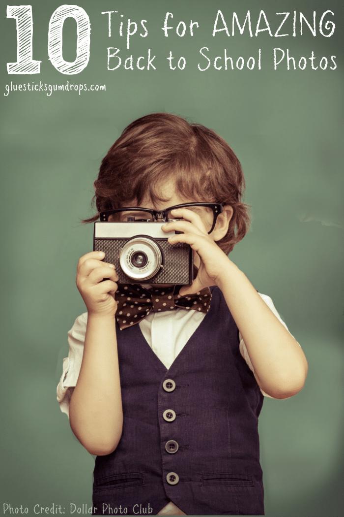 10 Tips for Fun Back to School Photos